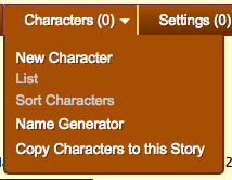 CharacterMenu